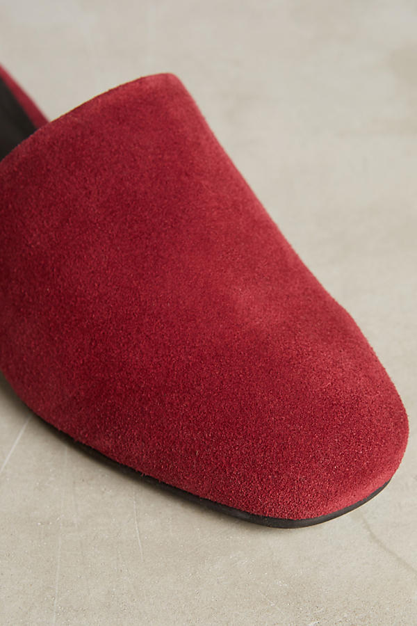 Slide View: 4: Intentionally Blank Suede Slides