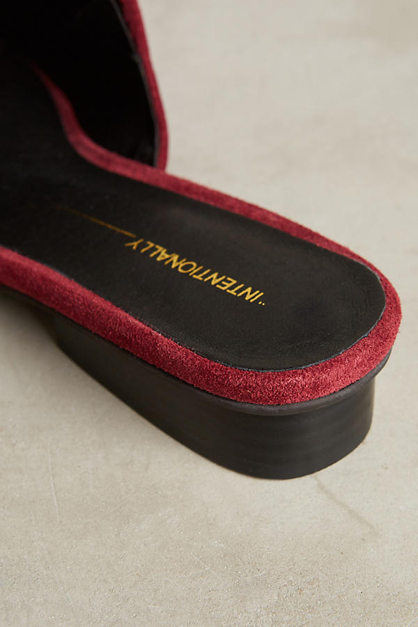 Slide View: 5: Intentionally Blank Suede Slides