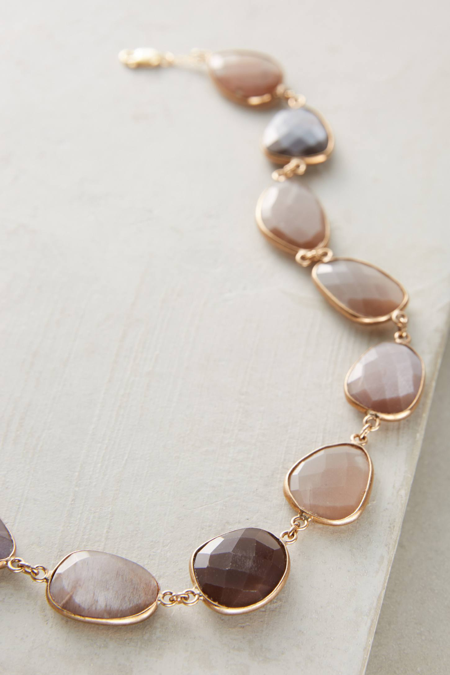 Slide View: 2: Moonstone Choker