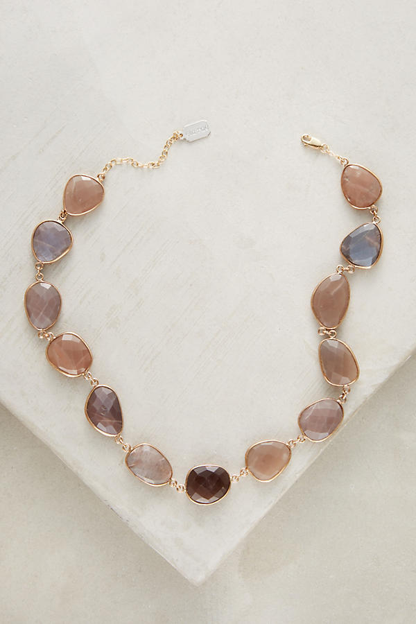 Slide View: 1: Moonstone Choker