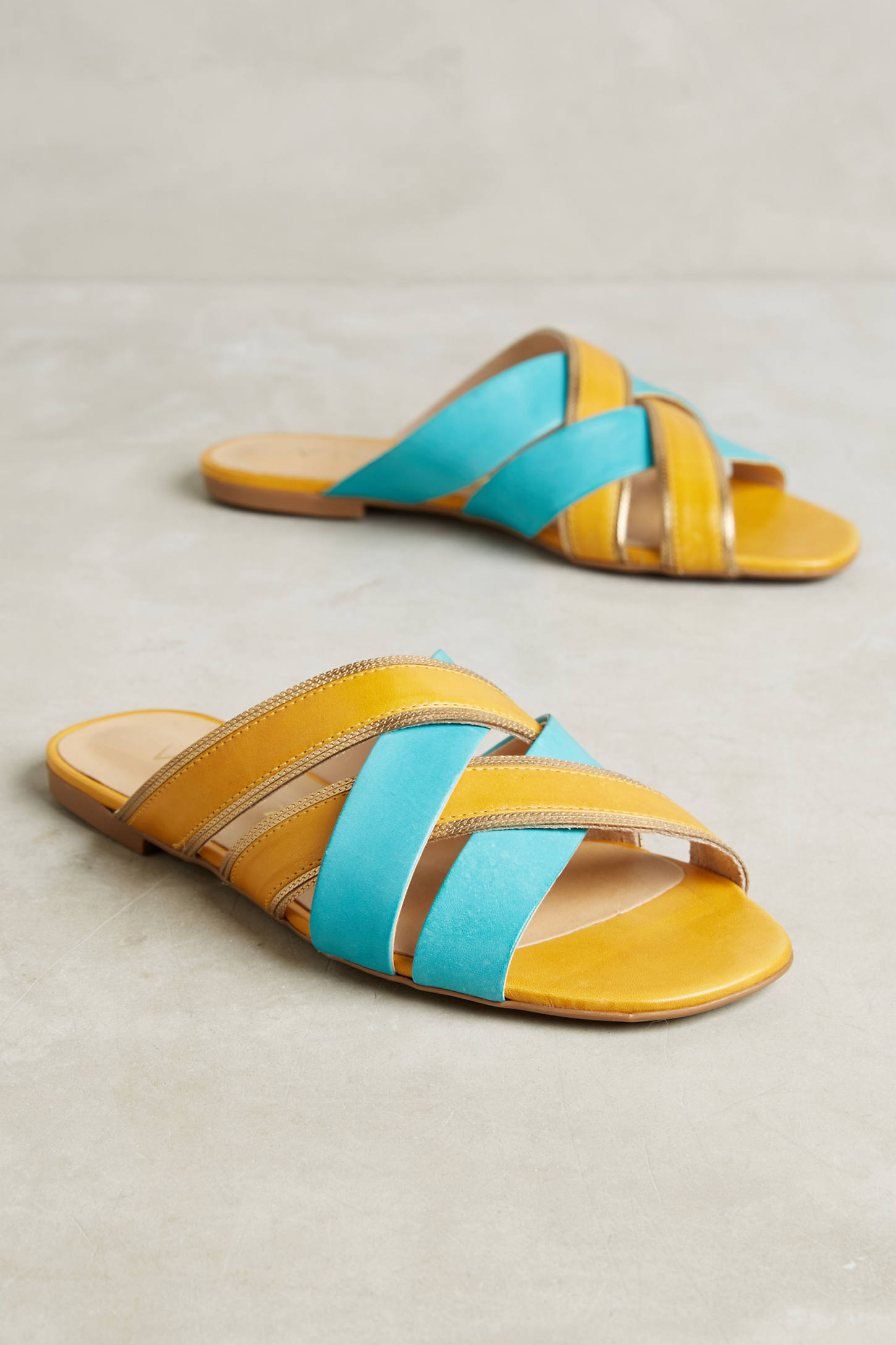 Vicenza Sunny Slide Sandals