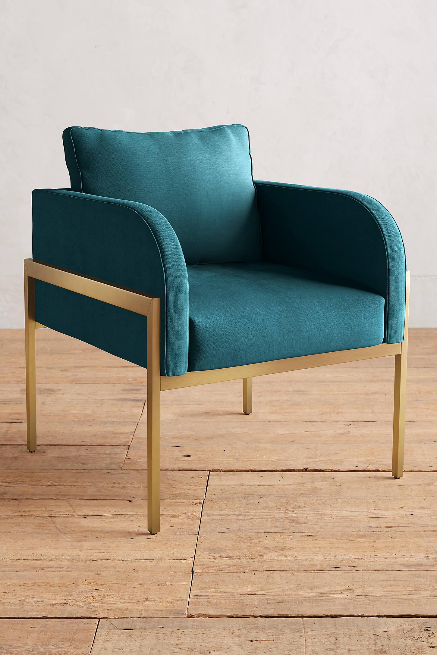 Belgian Linen Ardmore Chair