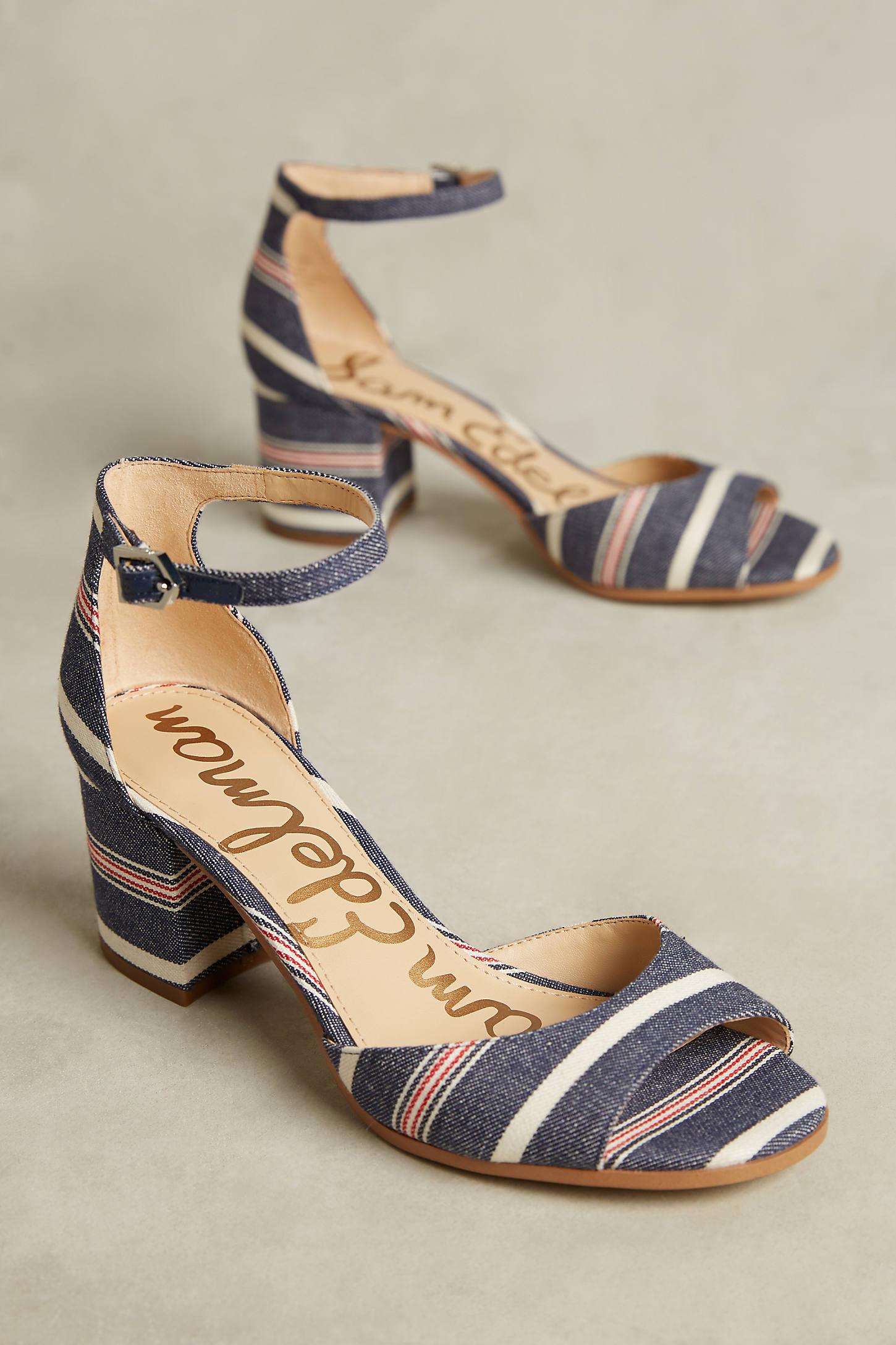 Sam Edelman Susie Block Heel Sandals