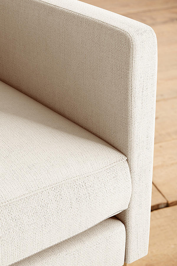 Slide View: 4: Basketweave Linen Meredith Chair
