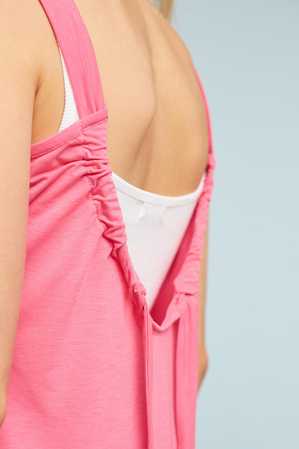 Slide View: 2: Rossa Tie-Back Tank Top