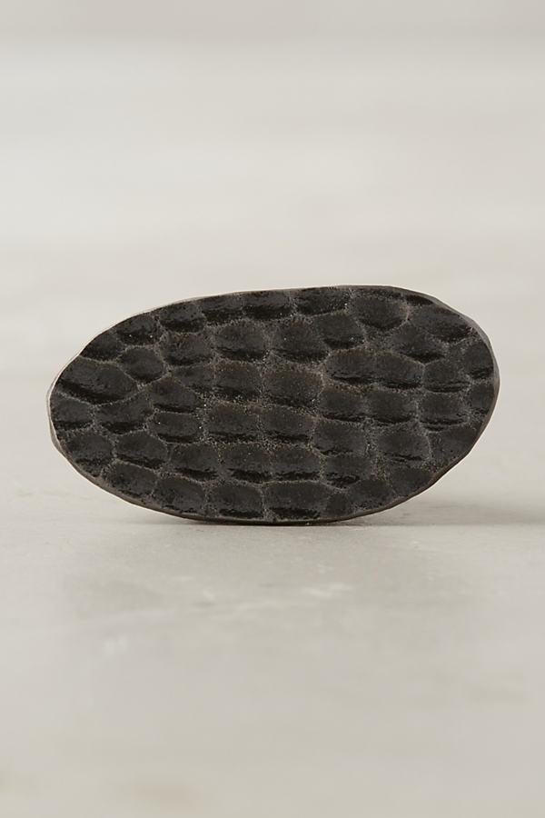 Serina Knob, Round - Black, Size S