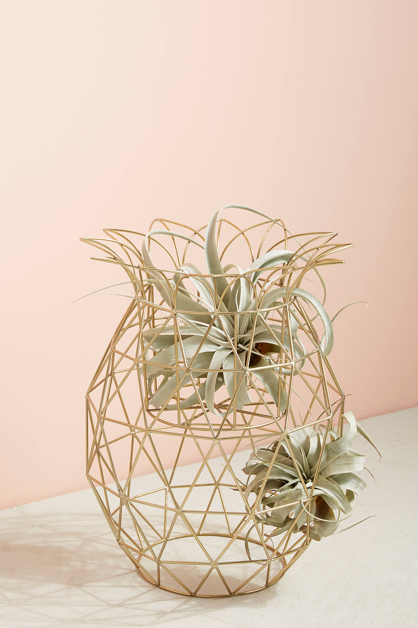 Wired Pineapple Plant Stand