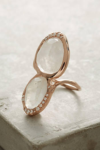 Moonstone Superstition Ring