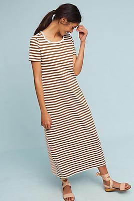 Slide View: 1: Striped Knit Dress