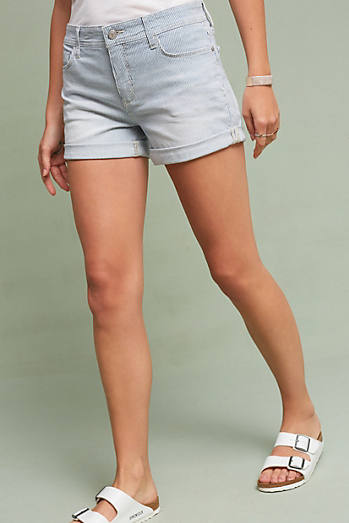 Pilcro Hyphen High-Rise Railroad Shorts