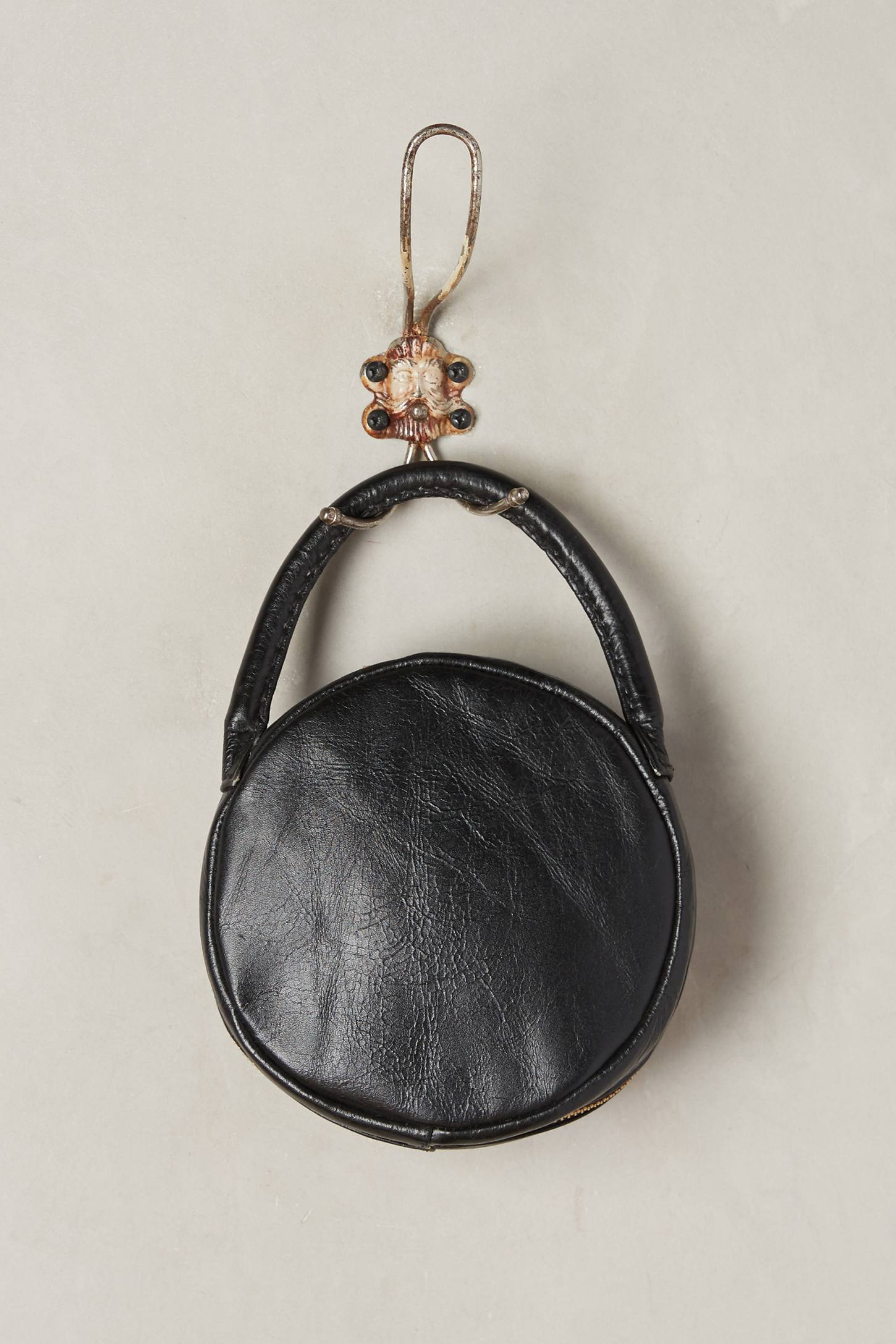 Slide View: 2: Embroidered Circle Bag