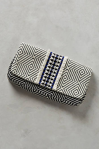 Diamond Print Clutch
