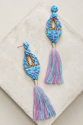 Gelda Tassel Drop Earrings