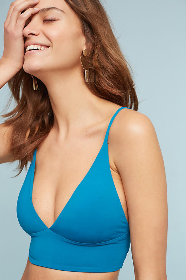 Slide View: 1: L Space Olivia Triangle Bikini Top