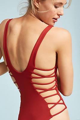 Slide View: 1: L Space Ricki Strappy One-Piece