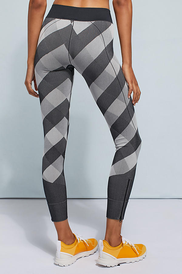 Slide View: 4: Adidas by Stella McCartney Checked Leggings