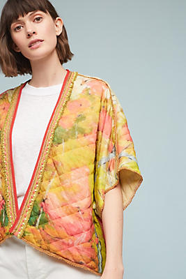 Slide View: 1: Dora Quilted Kimono