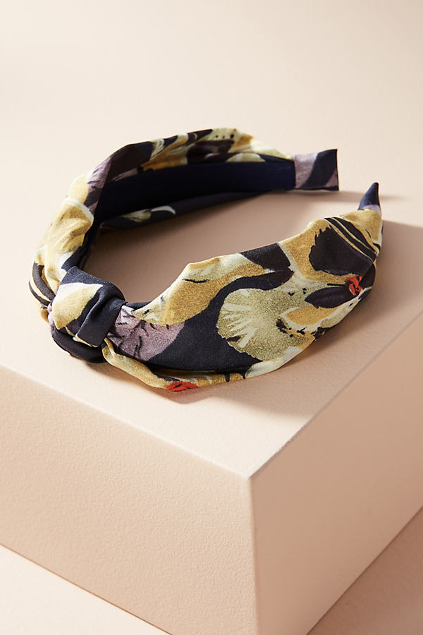 Ginnifer Haarband mit Blumendesign - Black