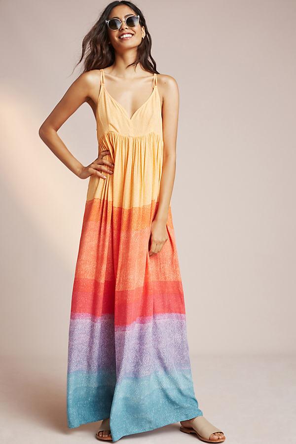 Jacinda Maxi Dress, Orange - Assorted, Size L