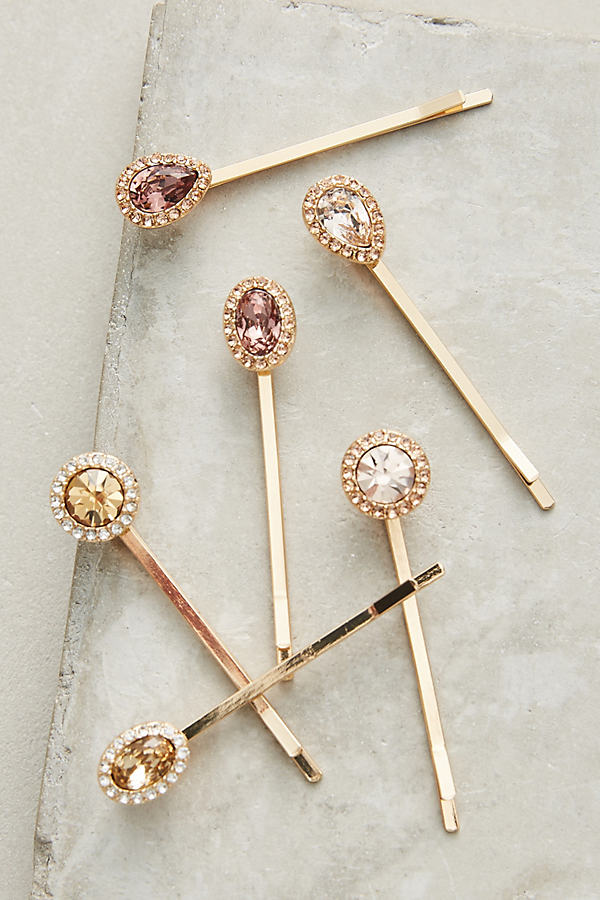Gemma Bobby Pin Set - Gold