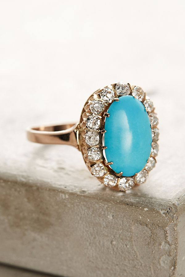 engagement diamond custom rings ring and turquoise