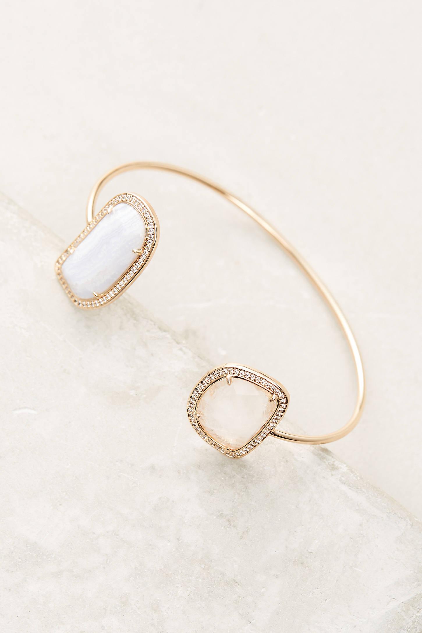 Adella Stone Cuff Bracelet