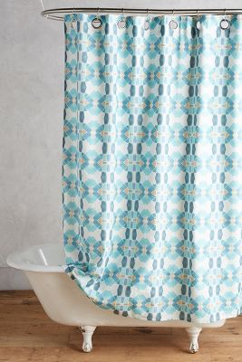 Bunglo Granada Shower Curtain | Anthropologie