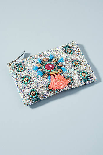 Kenna Beaded Pouch