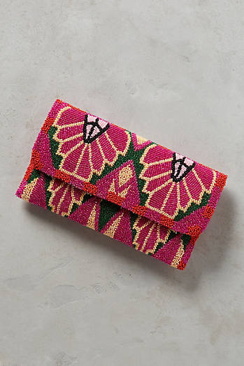 Jacqueline Beaded Clutch