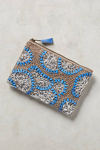 Beaded Bursts Pouch