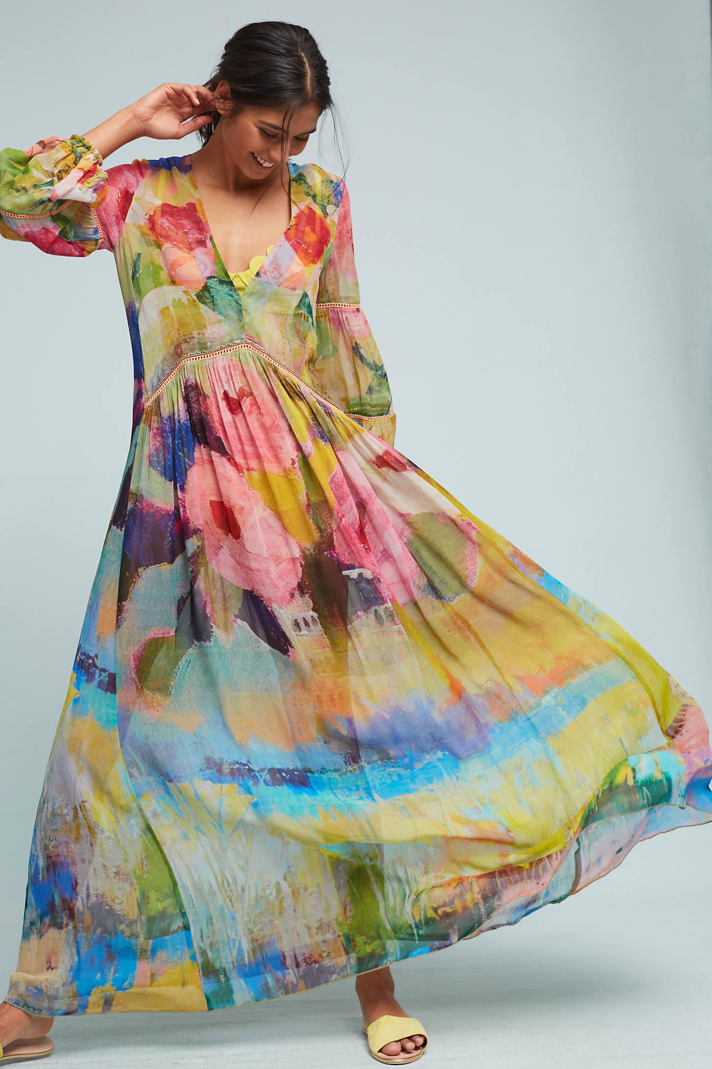 Albano Caftan Dress