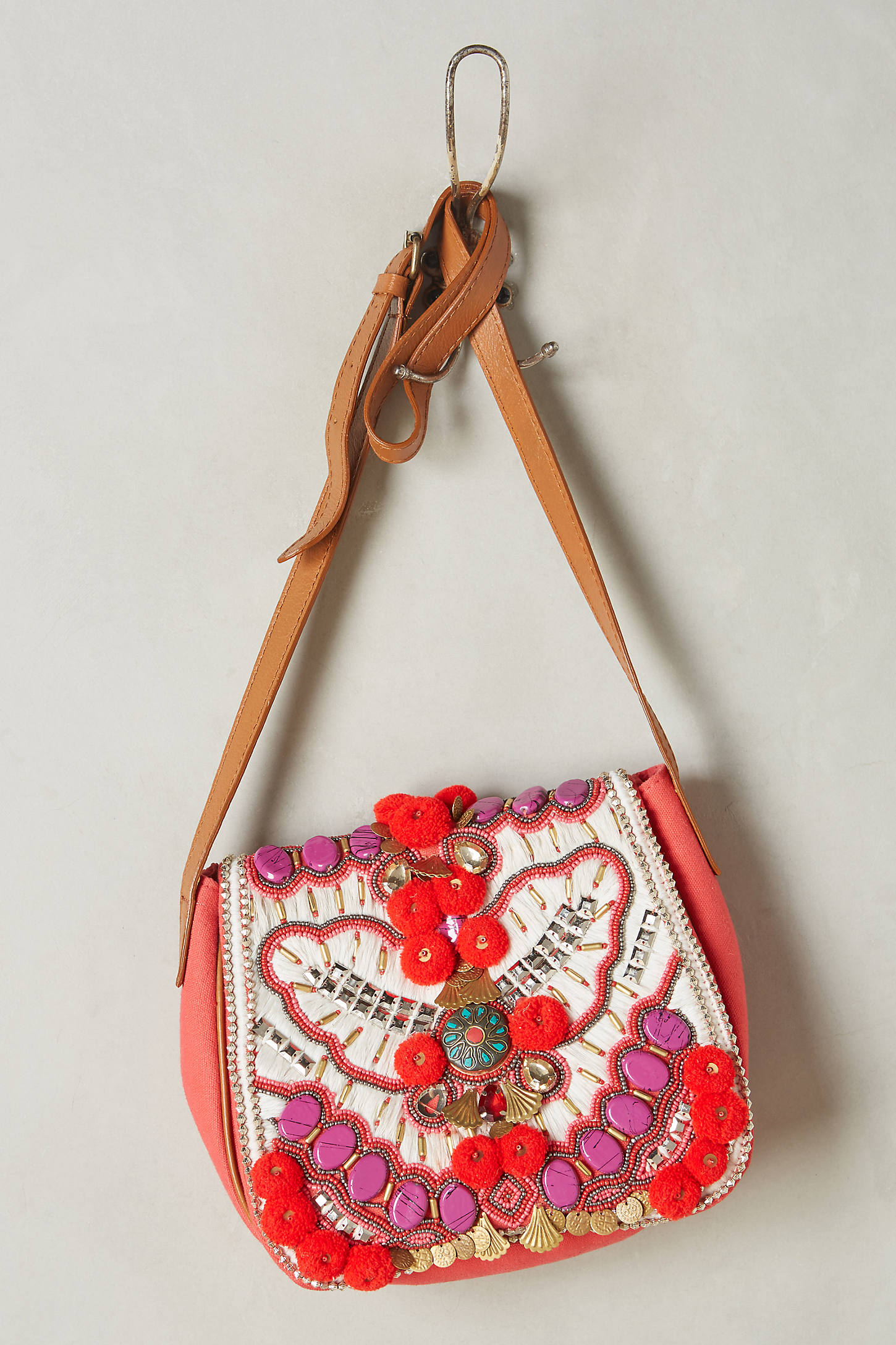 Antik Batik Rouge Koshi Crossbody Bag