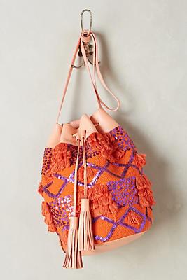 Slide View: 1: Antik Batik Moro Bucket Bag