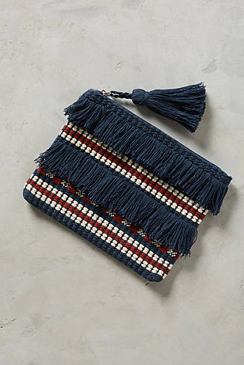 Fringed & Tasseled Pouch