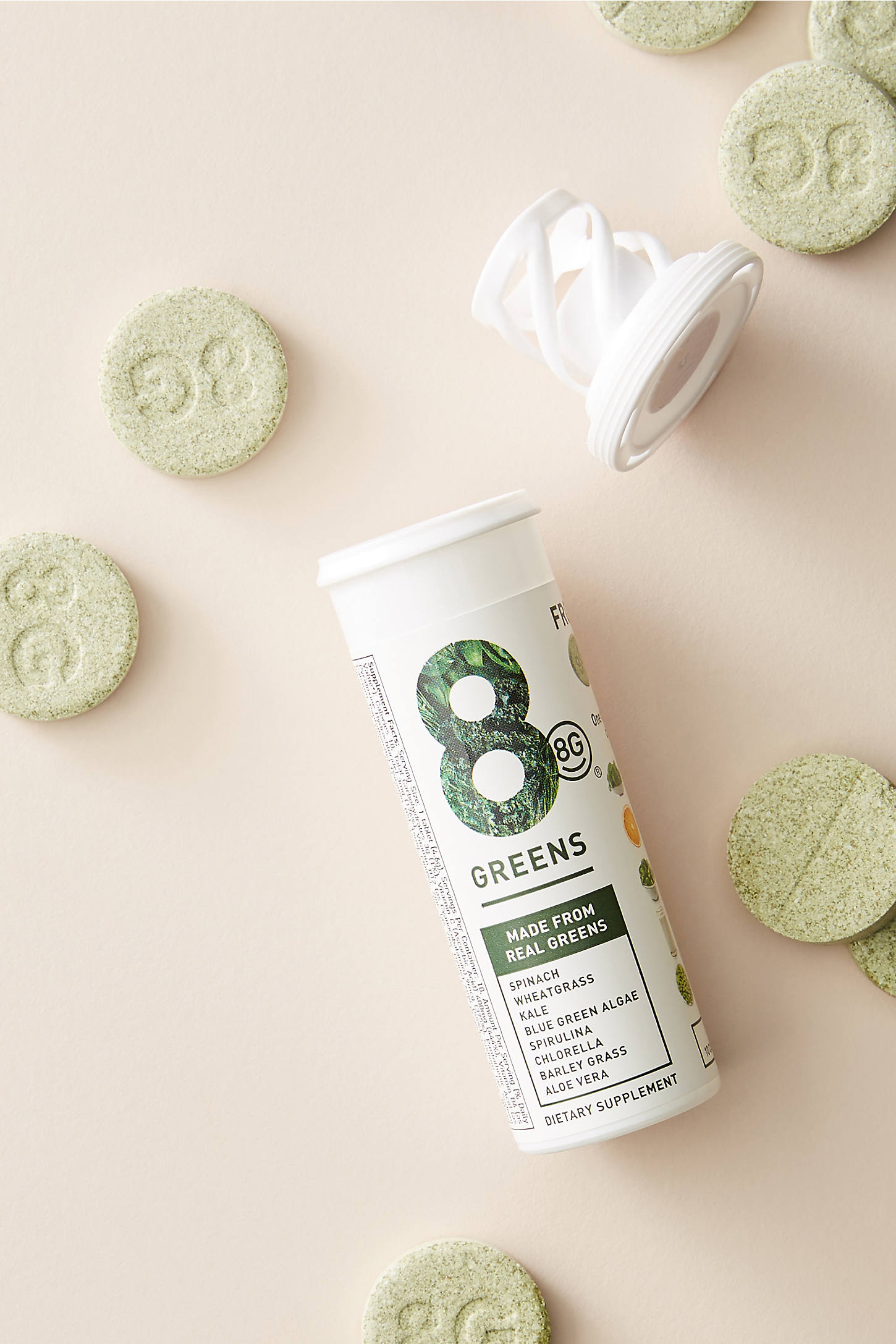 8G 8 Greens Dietary Supplement Carton