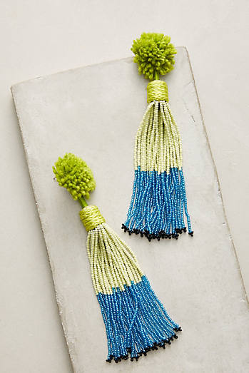 Alana Tassel Drop Earrings