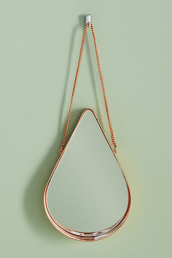 Ariette Shield Mirror - Copper, Size L