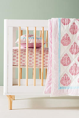 Slide View: 1: Fleur De Lis Toddler Quilt & Playmat