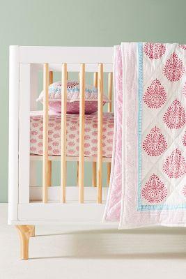 Slide View: 1: Fleur De Lis Toddler Quilt & Playmat