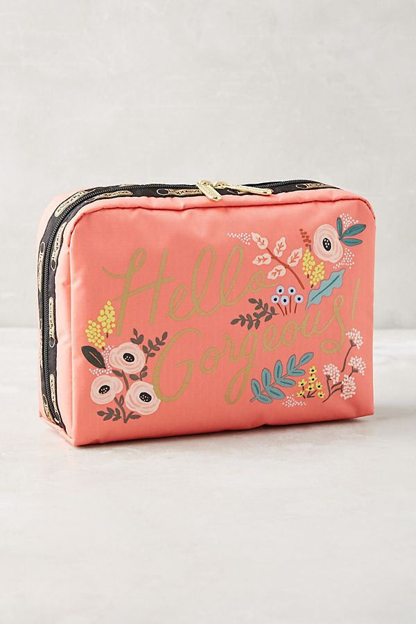 Paper Co X Lesportsac O Gorgeous Makeup Bag