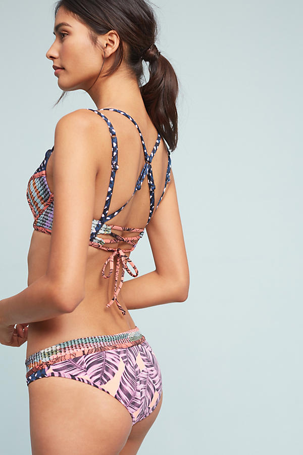 Slide View: 2: Maaji Sofia Printed Bikini Bottoms