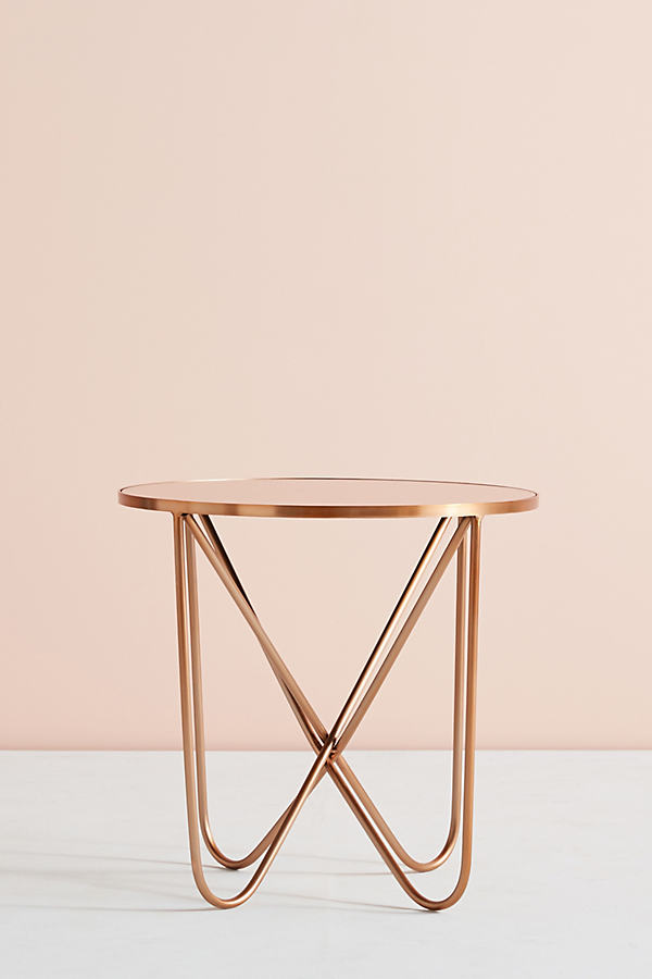 Derrington Drink Table - Peach