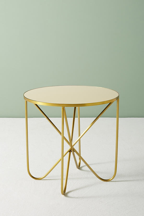 Derrington Drink Table - Dark Yellow