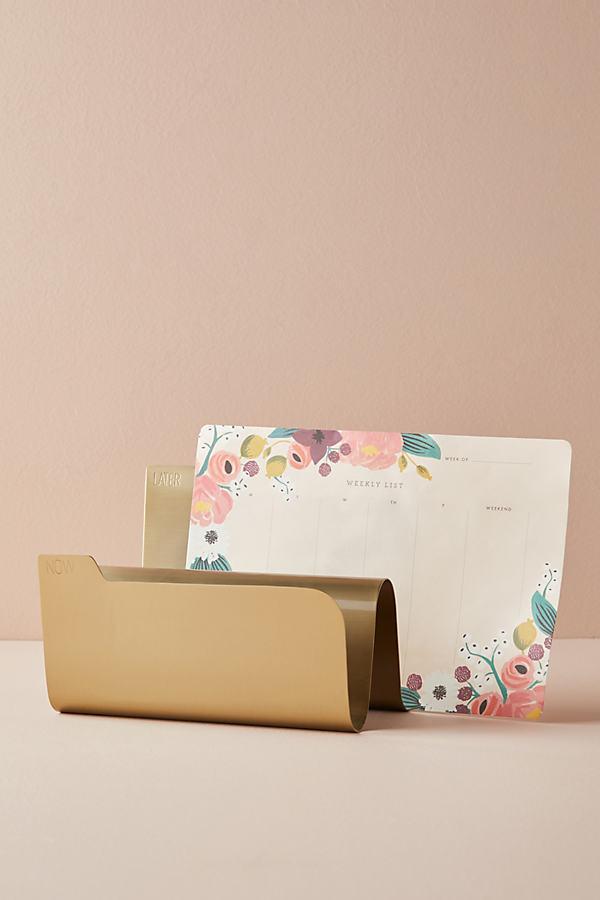 Cruz Paper Sorter - Gold, Size L