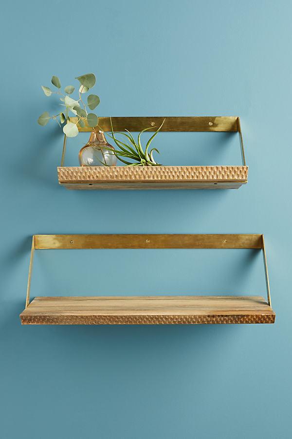 Beveled Wood Shelf - Cedar, Size Xs