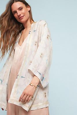 Slide View: 1: Honeydew Kimono