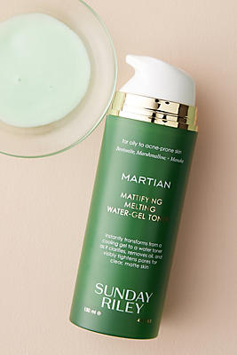 Slide View: 1: Sunday Riley Martian Mattifying Melting Water-Gel Toner