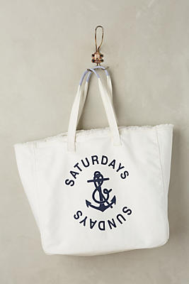 Slide View: 1: Saturdays & Sundays Tote