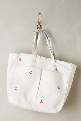 Slide View: 1: Little Anchor Tote