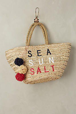 Slide View: 1: Sea Sun Salt Tote Bag